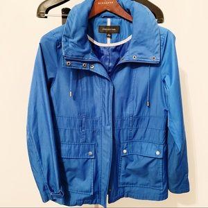 Jones New York - Bright Blue Raincoat - Size Small
